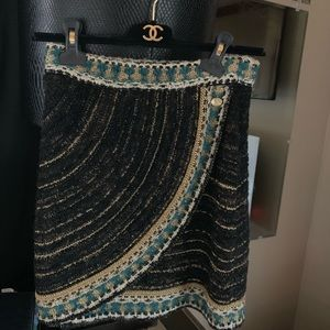 Chanel 2019 fall collection skirt size 34